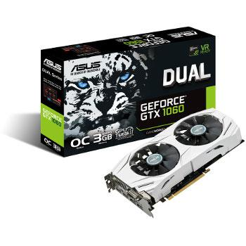 Asus GeForce GTX 1060 Dual OC - 3 Gb